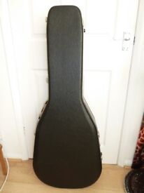 Guitar Case Pro II (Hiscox) - Suitable for Dreadnought or folk guitars