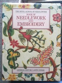 Royal School of Needlework Book of Needlework & Embroidery - selling for charity