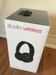 Brand New Beats Studio Wireless Over-Ear Headphones - Black Matte