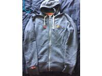 Superdry grey medium hoodie