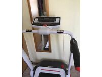 A Reebok I-run treadmill. Has been hardly used. Had it about 3 years