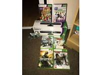 Kinect, games and wired controller