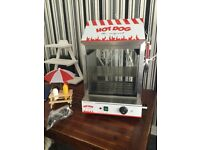 Hot dog steamer machine hire