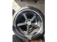 """20"""" AC SCHNITZER TYPE 4 ALLOYS - ONLY 3X ALLOYS - RRP £3500 CLEAN WITH TYRES"""