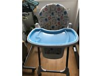 Baby eating chair like new!
