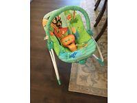 Bright stars vibrating chair