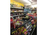 Premier off licence store