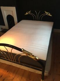 FREE Double bed with Ikea (Hovag) mattress. Must pick up Friday 14th July.