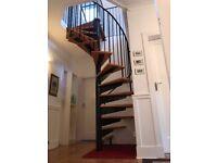 Black Spiral Staircase (£700 ono)