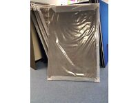Grey office partition 1800x1200 BRAND NEW in packaging