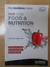 OCR GCSE FOOD AND NUTRITION STUDY BOOK
