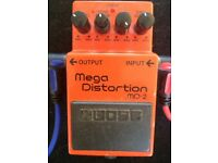Boss Mega Distortion MD2 pedal