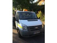 Double wheels Ford Transit Truck