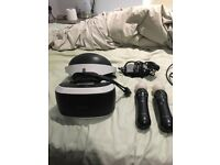 Ps 4 VR bundle with controller