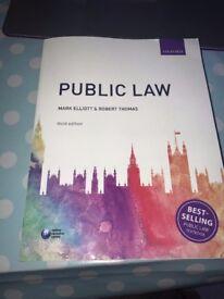 Public Law Book: Elliott and Thomas