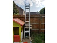 Large extending ladder
