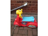 Fisher price laugh and learn smart stages scooter