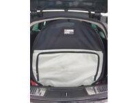 Travel / camping dog bag and bed - medium size, great condition, for cars such as Insignia Estate