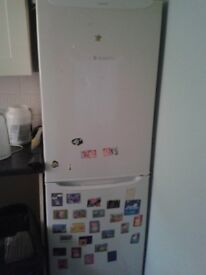 Fridge freezer and TV