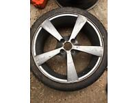 5 17inch alloy wheels