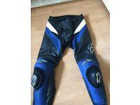 Alpine star motor bike trousers