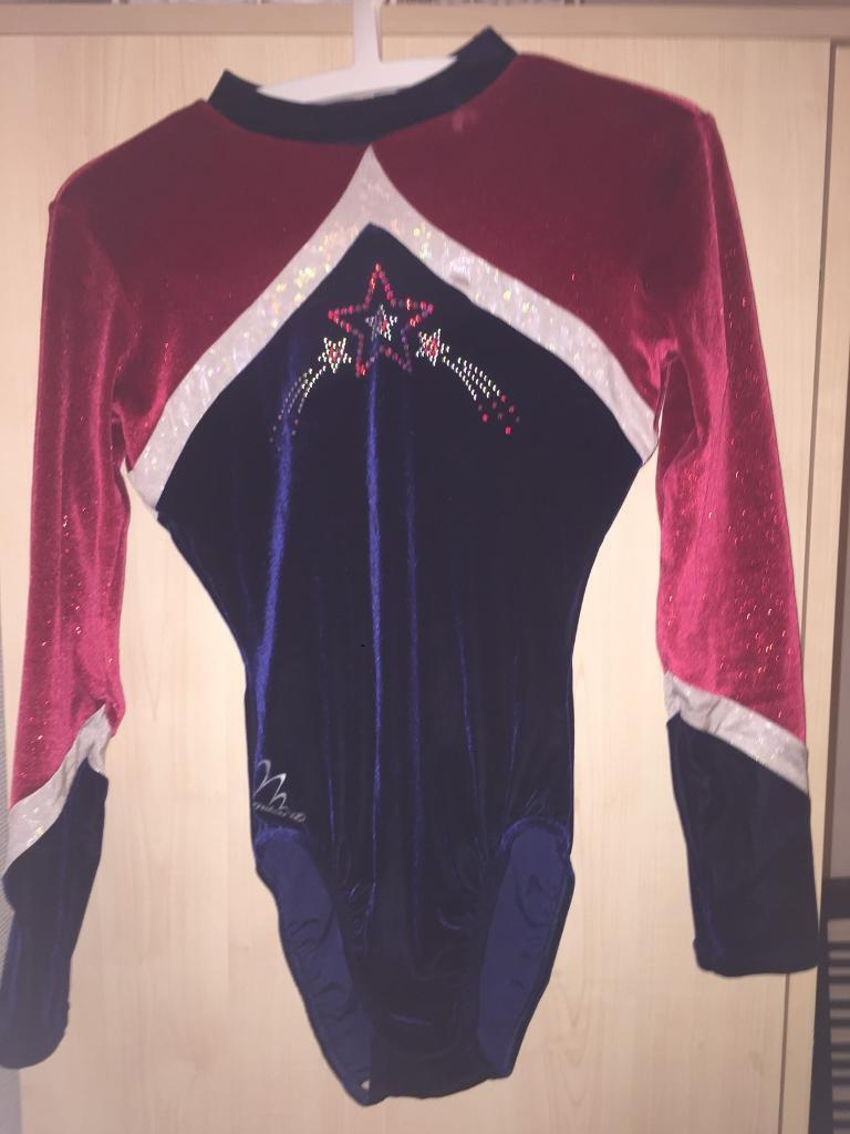 Milano leotard 36in Shoreham by Sea, West SussexGumtree - This leotard is lovely, long in the body. Glittery red sleeves and sequins are all in tacked. This is a turtle neck. In worn condition, brought second hand never worn by myself