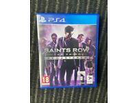 Saints Row 3 remastered ps4
