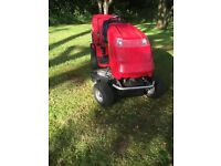 Countax C600H Ride-on Mower with Grass Collector