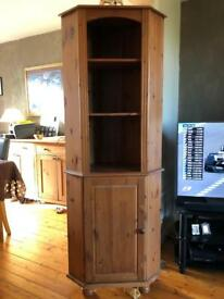 Corner Unit - Antique Pine