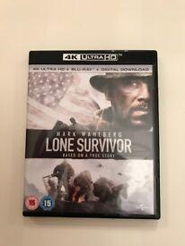 Lone Survivor UHD 4K Blu Ray