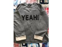 Dorothy Perkins 'yeah' jumper size 16