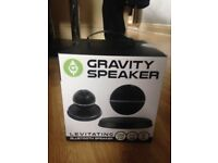 Gravity Speaker NEW & BOXED. Black. (Never been opened!)