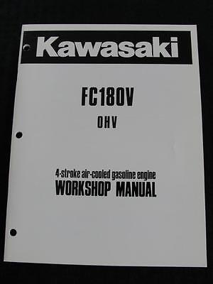 Original Kawasaki Fc180v 4-stroke Air-cooled Gasoline Engines Service Manual