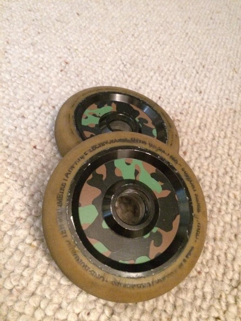 Elite stunt scooter wheels