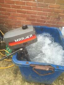 2hp mariner outboard boat engine