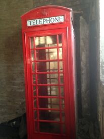 Original red k6 telephone box for sale