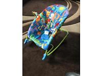 Fisher price deluxe newborn to toddler rocker seat