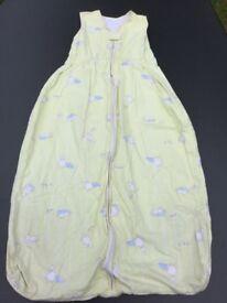 Light Baby sleeping bag / grow bag