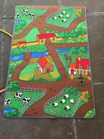 Car mat double sided