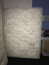 2 kingsize orthopaedic mattresses good condition smoke free home