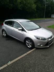 Silver Ford focus 2014