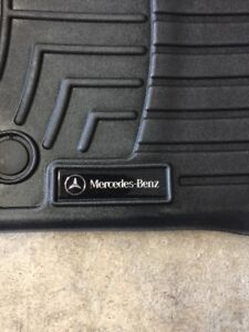 Mercedes OEM all weather floor liners trays mats
