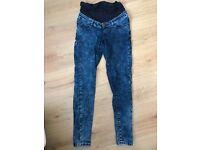 Maternity jeans size 8/10