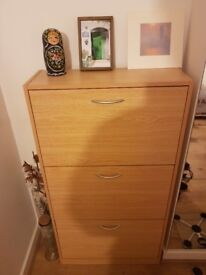 Shoe Cabinet - 24.80inch x 9.44inch x 46.45inch - Used - 20£