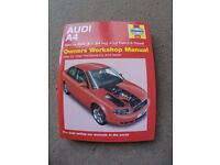 Audi A4 Haynes Workshop Manual