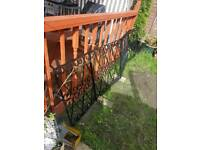 Wrought iron 4 gates in 1