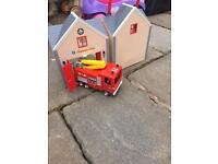 Fire Man Sam fire station