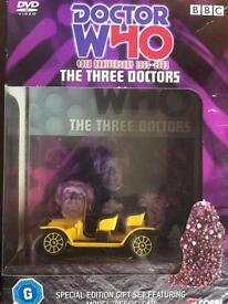Doctor Who - The Three Doctors - 40th Anniversary w/Bessie Model (DVD)