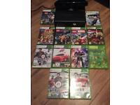 Xbox 360 250gb with Kinect and 2 Controllers