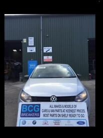 2013 polo parts breaking bcg silver
